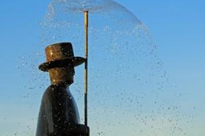 Folon L'uomo della pioggia 3