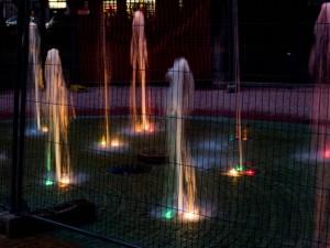 Giochi di luce in gabbia