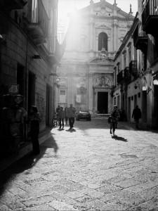 Raggio di sole su S.Irene. Lecce