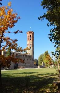 Badia a Settimo: campanile
