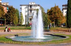 Zampillo ai giardini pubblici