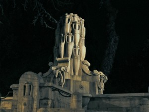 Fontana delle Anfore - notturno