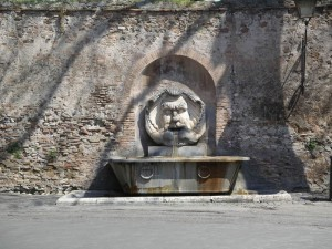 Il Mascherone all'Aventino (Giardino degli Aranci).