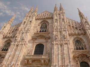 Scorcio del Duomo di Milano