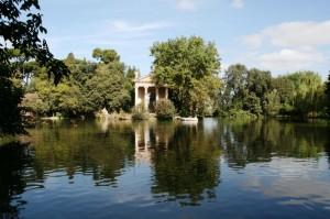 Tempio di Esculapio-Villa Borghese-ROMA