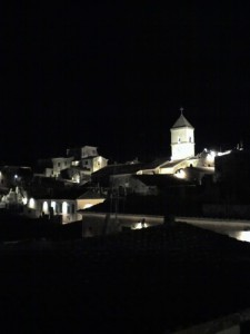 campanile di capoliveri by night