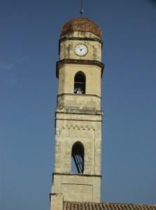 Campanile della Chiesa di San Pietro Assemini