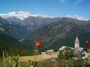 Chiesetta- Oratorio della Madonna della Neve Alpe di Mera