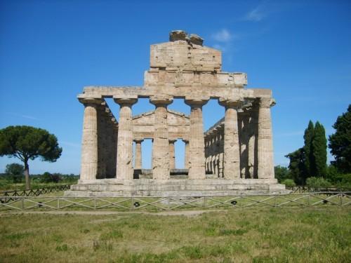 Capaccio - Tempio di Cerere a Paestum VI° sec.a.C