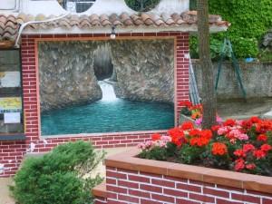 Fontana delle grotte di Pertosa