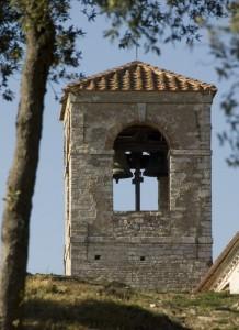 il campanile sul colle
