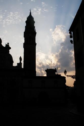 Parma - Controluce all'Alba - Chiesa San Giovanni