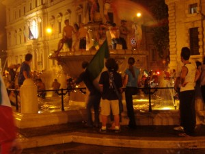 Fontana in Corso Cavour