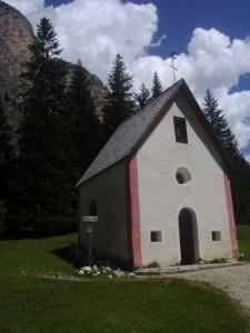 Cappella di S. Silvestro in Vallunga (Selva Gardena)