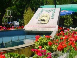 Particolare di una fontana di Ischia
