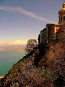 Tindari, il Santuario e il panorama