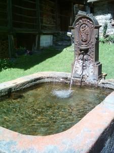 Fontana in pietra di Otro