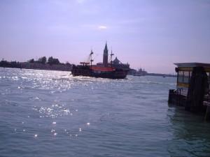 San Giorgio dietro il galeone