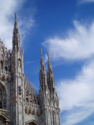 Milano - Duomo-Guglie