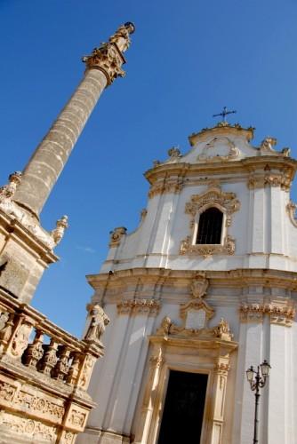 Presicce - Chiesa e Colonna di S.Andrea