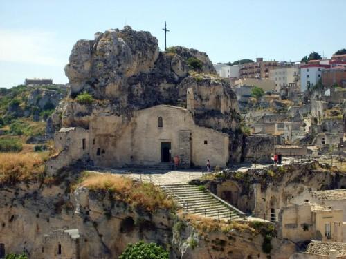 Matera - Chiesa nella roccia della Madonna de Idris