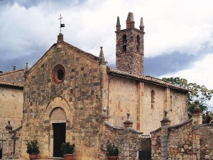 Chiesa Santa Maria Monteriggioni Siena