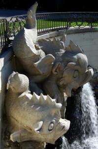 Reggia di Caserta - Fontana dei delfini