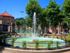 fontana ai giardini di Millesimo