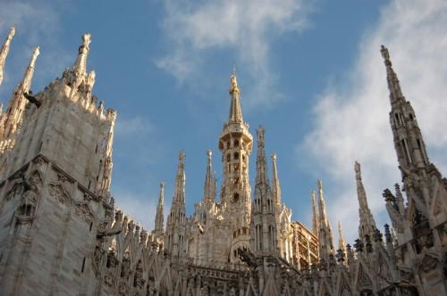 Milano - tra le guglie