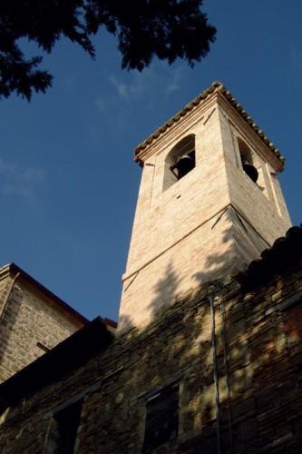 San Severino Marche - torre campanaria di Aliforni