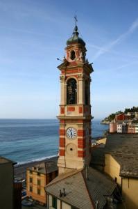 Chiesa di S. Margherita a Sori - Campanile panoramico