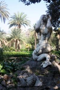 """""""Fontana barocca"""" di villa Trabia"""