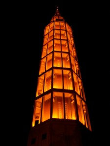 è il campanile più alto in italia