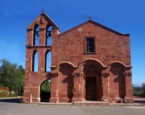 Ghilarza - - la Chiesa strappata al lago -