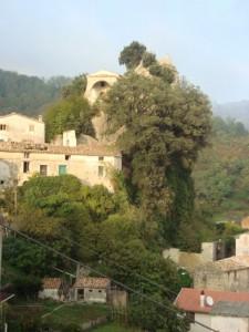 La chiesa  :  Madonna  Assunta della Castelluccia