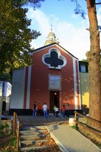 Gioco di colori… - Chiesa San Colombano di Vignale