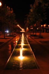 Zampilli di notte