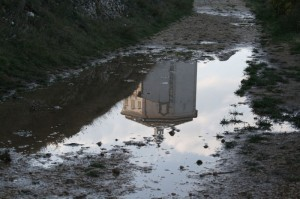 Santa Maria della pietà riflessa