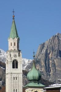 Campanile a Cortina d'Ampezzo