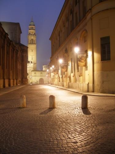Parma - Scorcio sul Campanile di S. Giovanni in prima mattina
