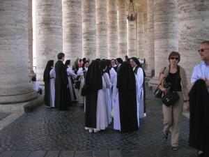Colonnato di San Pietro.