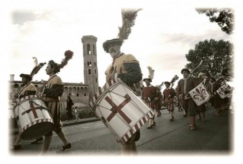 Scandicci - Il corteo a Badia a Settimo