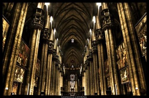 Milano - Duomo di Milano interno