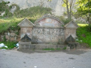 Fontana di Brattirò