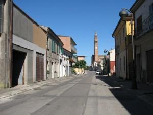 Vista su Castelbaldo