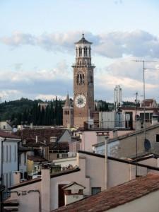 Verona dall'alto e Torre dei Lamberti