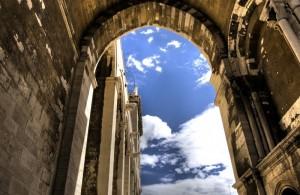 Scorcio della cattedrale di Trani