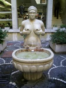 Una fontana prosperosa….