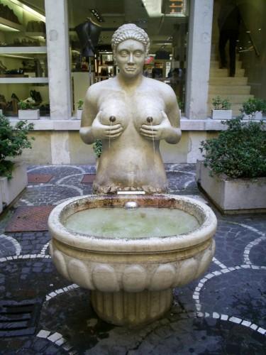 Treviso - Una fontana prosperosa....