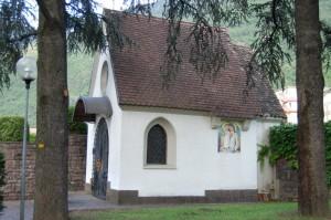 cappella a ricordo dei caduti